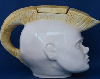 Swineside Ceramics Punk Rocker Teapot