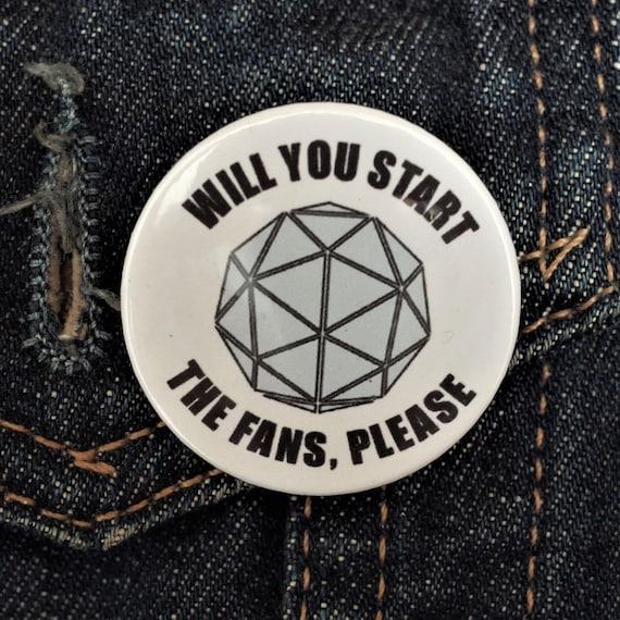 Crystal Maze Enamel Pin