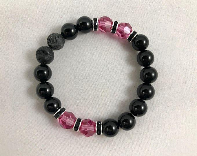 Aromatherapy Birthstone Bracelet ~ Diffuser Birthstone Bracelet