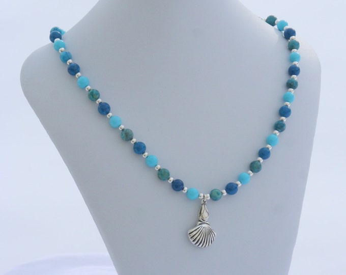 By the Sea Gemstone Necklace