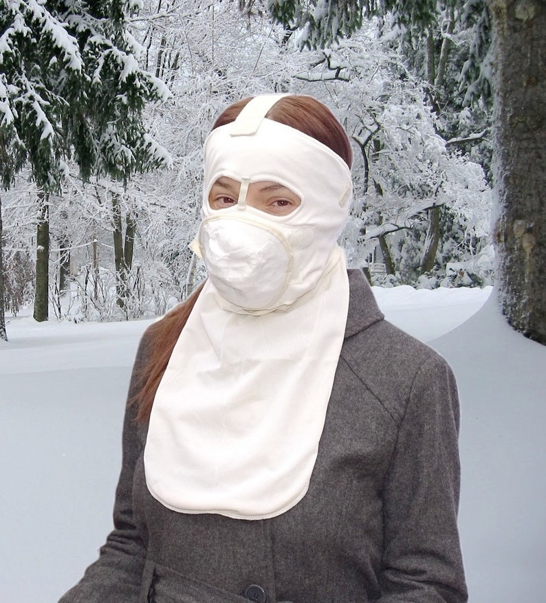 Extreme Cold Weather Thermal Face Mask military stock  9249635a1
