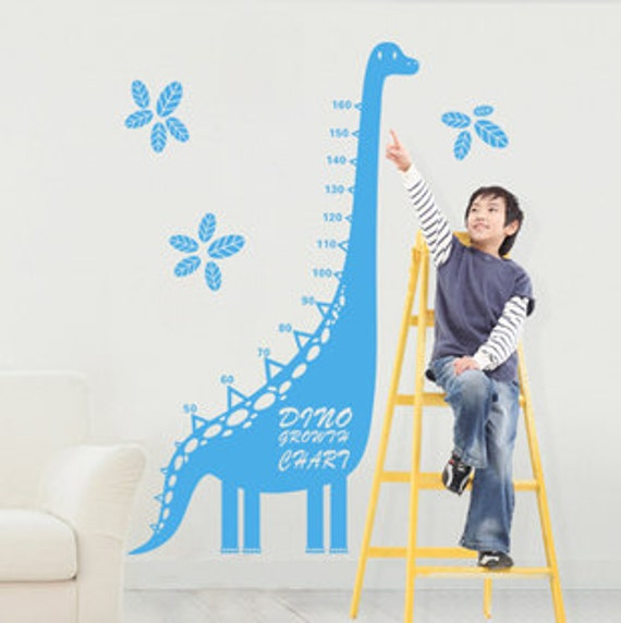 Dinosaurs Growth Chart Wall Decal Growth Chart Wall Etsy