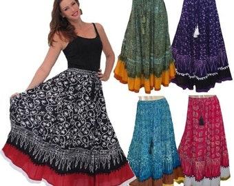 a8ef42f500f Batik maxi skirt