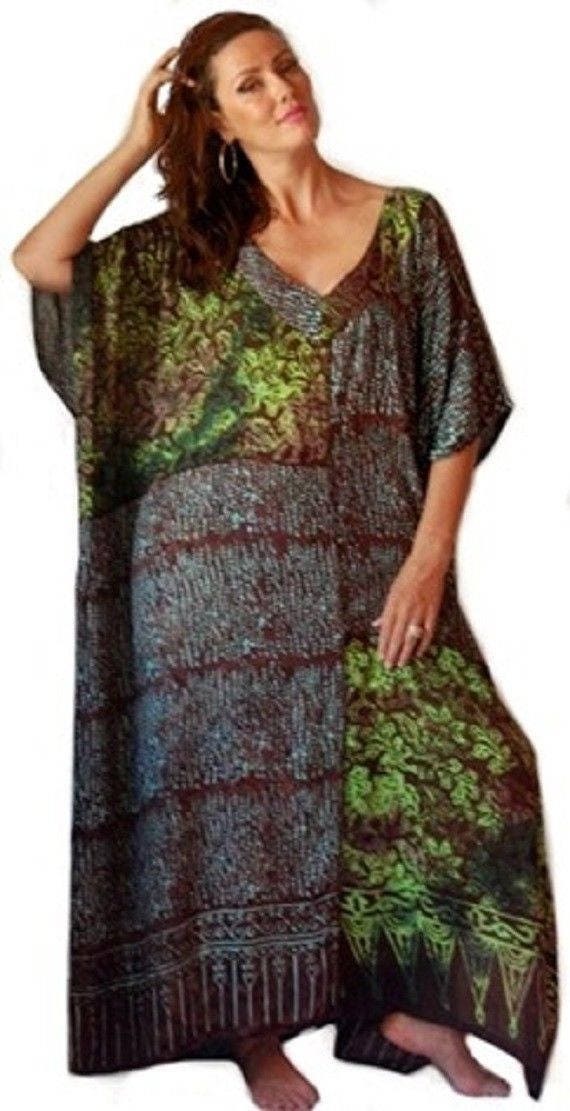 Mexican Peasant Dress LotusTraders I868 Misses Plus Sizes Smocked ...