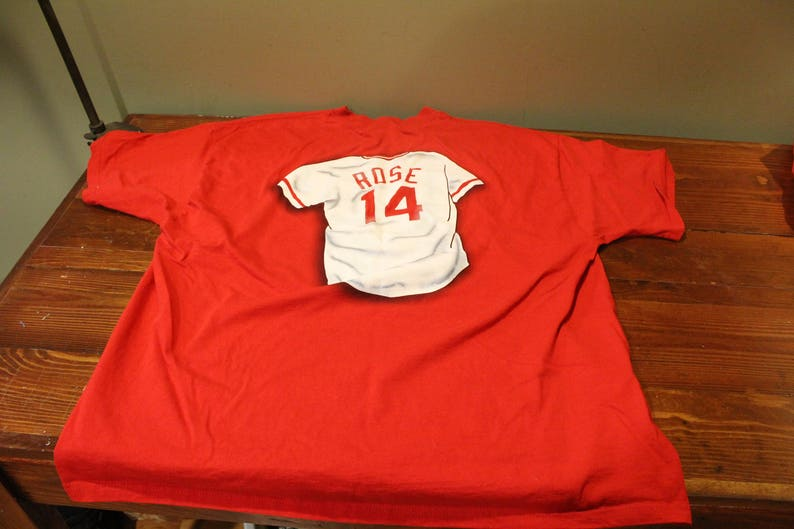 Vintage Riverfront-Cinergy Field Farewell T-shirt Pete Rose 2XL