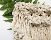 Small Macrame Handbag/Clutch