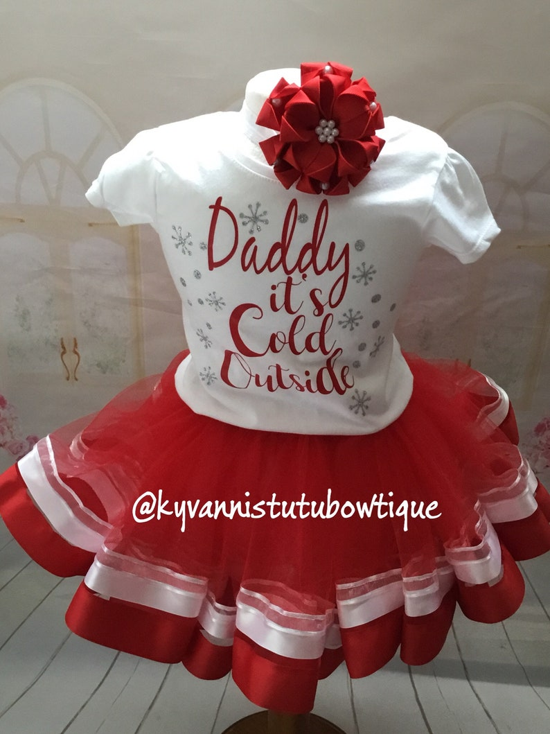 10deaa33ae0f Daddy Its Cold Outside Outfit Silver Glitter Snow