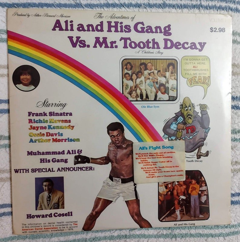 Stereo LP Record Album The Adventures of Ali and His Gang