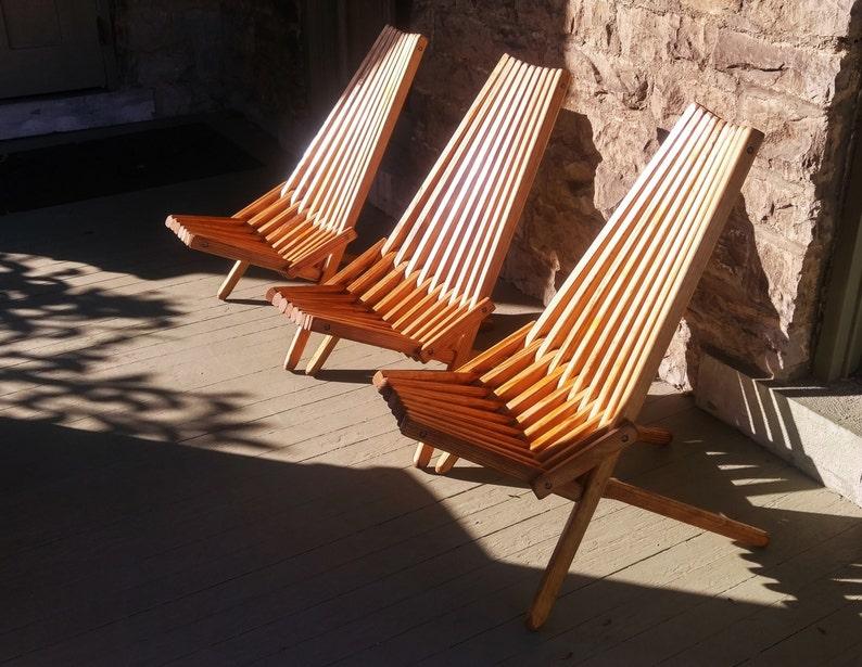 Outdoor Furniture Recessed Hardware Patio Chair Adirondack
