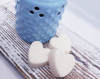 Wax Melts Choose Your Scent Heart Shaped Wax Melts Scented Wax Melts Scented Wax Melts Wax Melts for Warmer Soy Wax Melts Housewarming Gift
