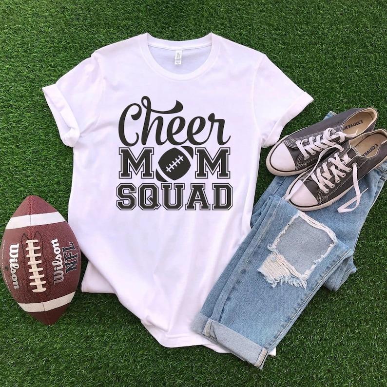 Cheer Mom Shirts Cheer Mom Tshirts Cheer Mom Squad Cheerleading Mom Squad Shirts Cheer Mom Squad Shirts Mom Squad Shirts