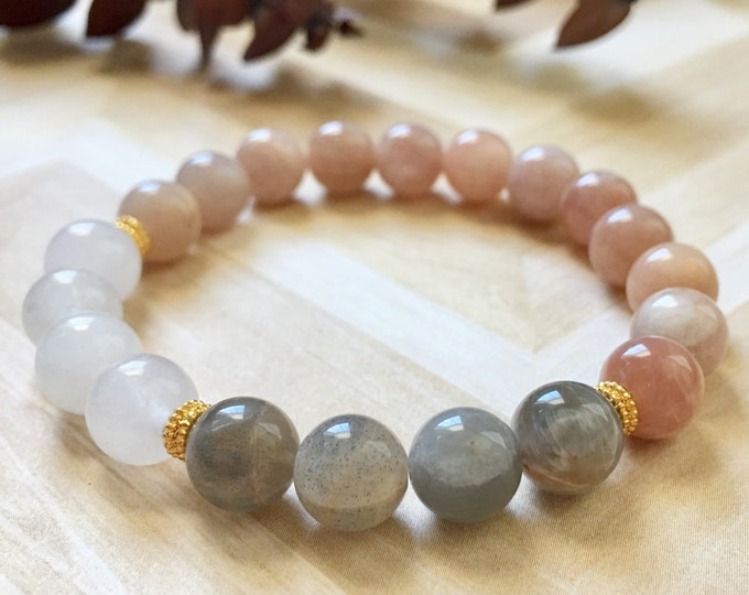 Moonstone Fertility Bracelet