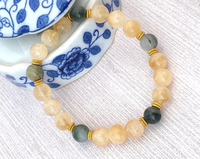 Citrine Bracelet Energy Bracelet for Women