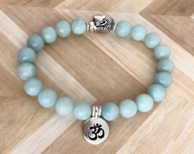 Amazonite Mala Yoga Bracelet