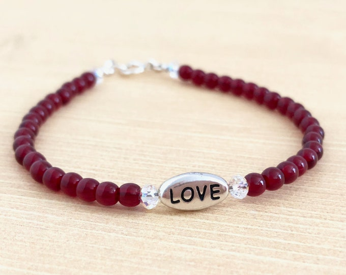 Inspirational Mantra Bracelet for Women
