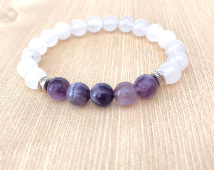 Amethyst Bracelet Gift for Women