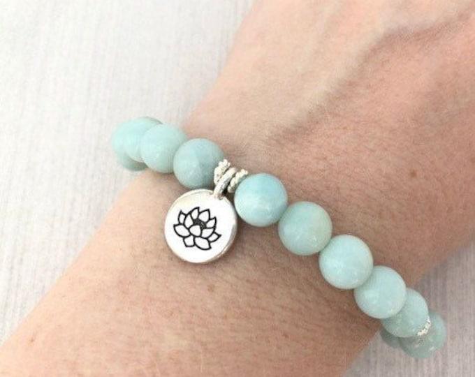 Amazonite Yoga Bracelet