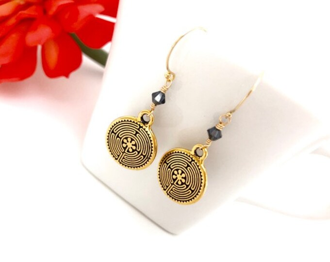 Gold Dangle Earrings for Women