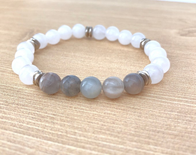 Moonstone Fertility Bracelet Gift for Friend