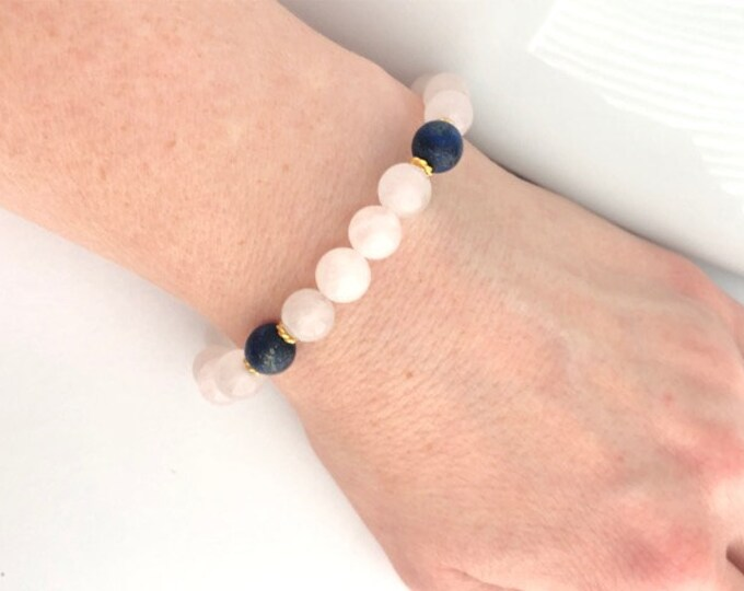 Rose Quartz Friendship Jewelry Gift