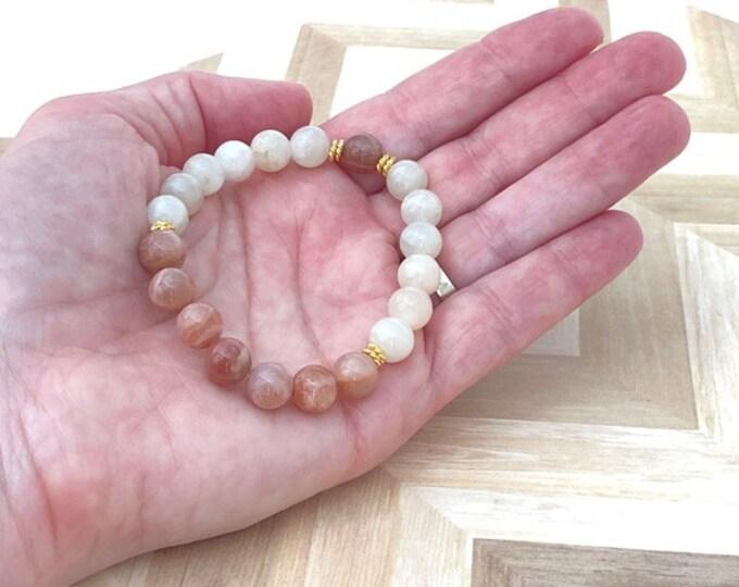 Moonstone Crystal Jewelry Bracelet