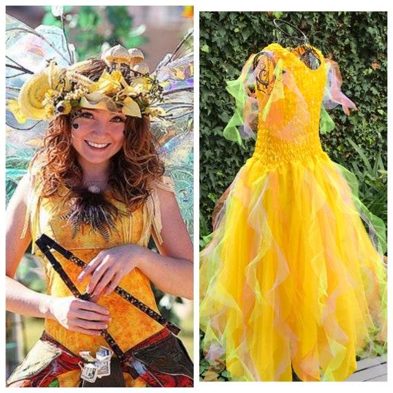 Woman/'s /& Plus Size Carnival Fairy  Dress  ~ Halloween Party Festival  Costume
