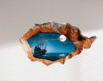 Camera Da Letto Nave Pirata : La camera da letto dei pirati per bambini e ragazzi