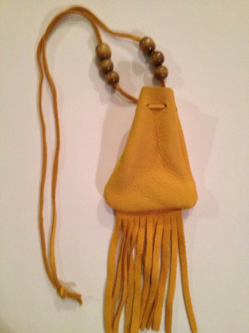 Native American Inspired Medicine Bag image 0