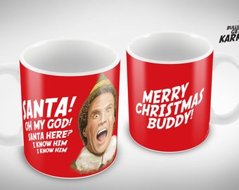 Buddy the Elf Ceramic Mug
