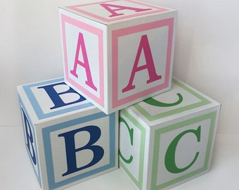 Block letters | Etsy