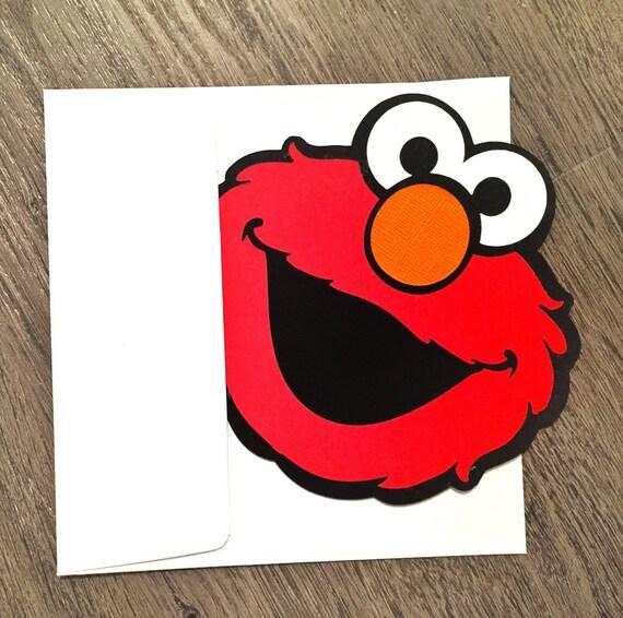 Elmo Invitations Invite Party Birthday