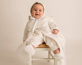 cba0f8365 Boys baptism outfit