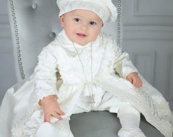 8c72ebd9d553 Baby Boy Christening Gown