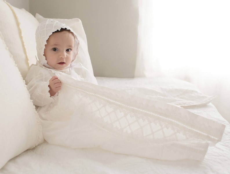 232037b144e781 ... Baby Boy Christening Gown Spanish Style outfit ropones para image 4 ...
