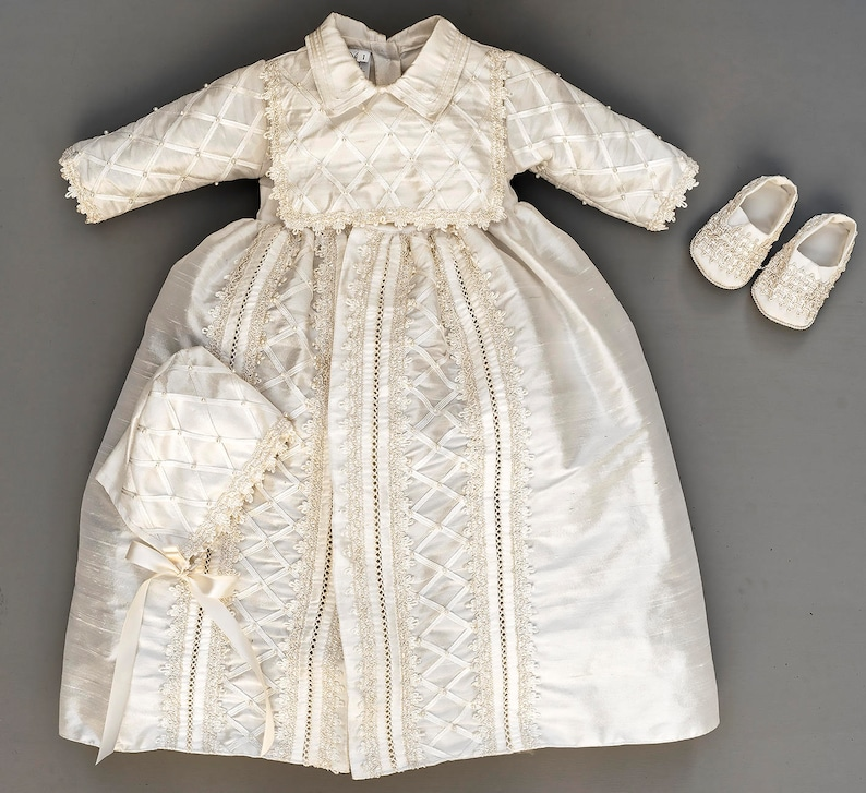 92434608dd6d6d ... Baby Boy Christening Gown Spanish Style outfit ropones para image 1 ...