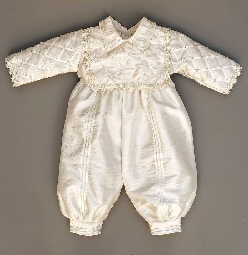 9b987e00df70da ... Baby Boy Christening Gown Spanish Style outfit ropones para image 5 ...