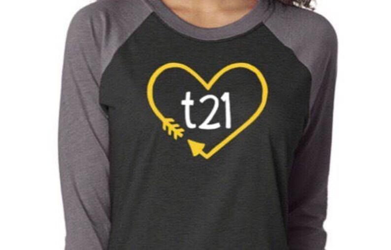 a2c5adb55cfe1 Down Syndrome Awareness Shirts ADULT SIZES Unisex Raglan | Etsy