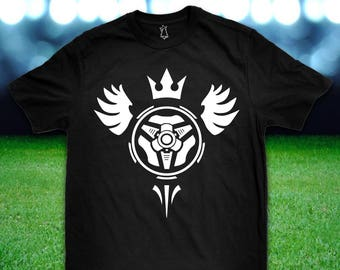Aerial Goal Wings and Crown T Shirt Lots of Colors to choose