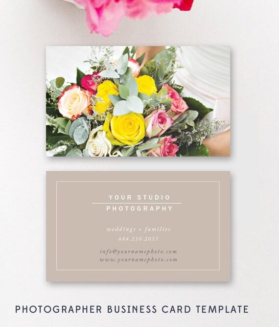 Hochzeit Fotograf Visitenkarte Vorlage Moderne Visitenkarte Design Digitale Photoshop Dateien Instant Download