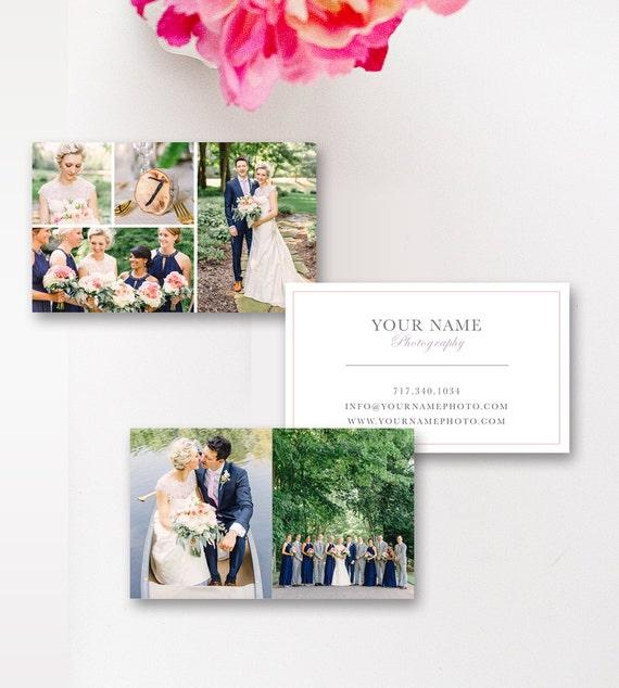 Visitenkarte Vorlage Hochzeit Fotograf Visitenkarten Digitale Photoshop Vorlagen Instant Download