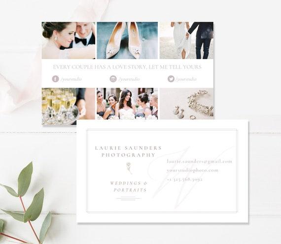 Fotografie Visitenkarte Vorlage Für Fotografen Hochzeit Fotograf Visitenkarte Digitale Photoshop Vorlagen Instant Download