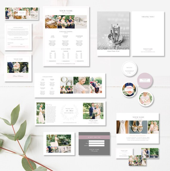 Photographer Marketing Set Print Marketing Template Suite Etsy