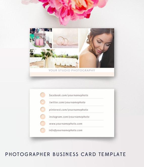 Fotograf Visitenkarten Vorlage Hochzeitsfotografen Digitales Design Photoshop Vorlagen Psd Design