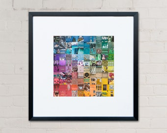 Brighton and Hove Print - Colour Wall Art - Brighton Gift - Photography Print - Kate Cooper Photography