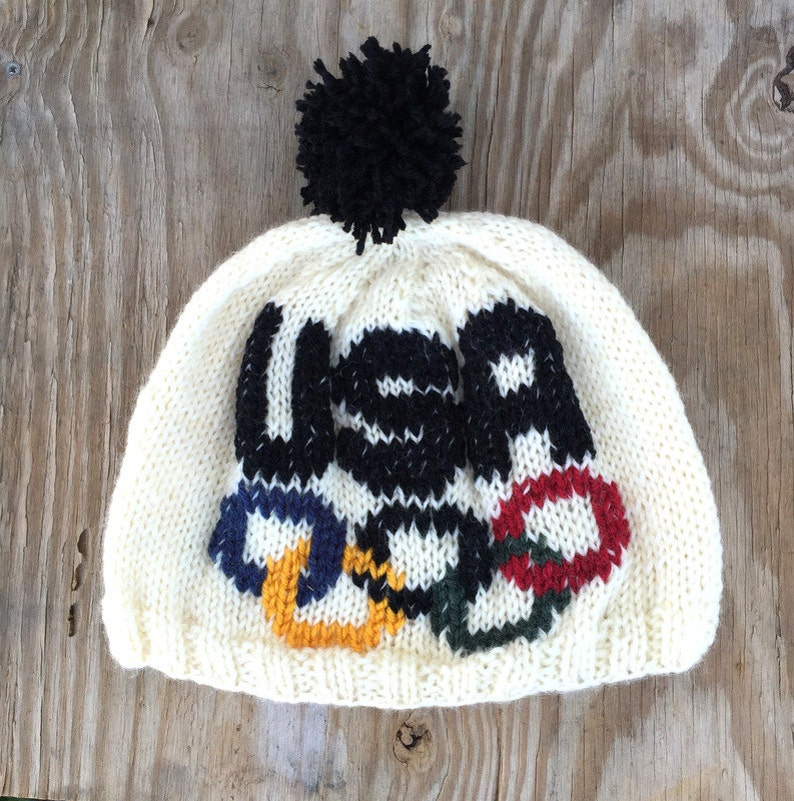 USA Hat OLYMPIC Rings Hat Olympics Hat Hand Knit Hat Team  1f3a659a0e5