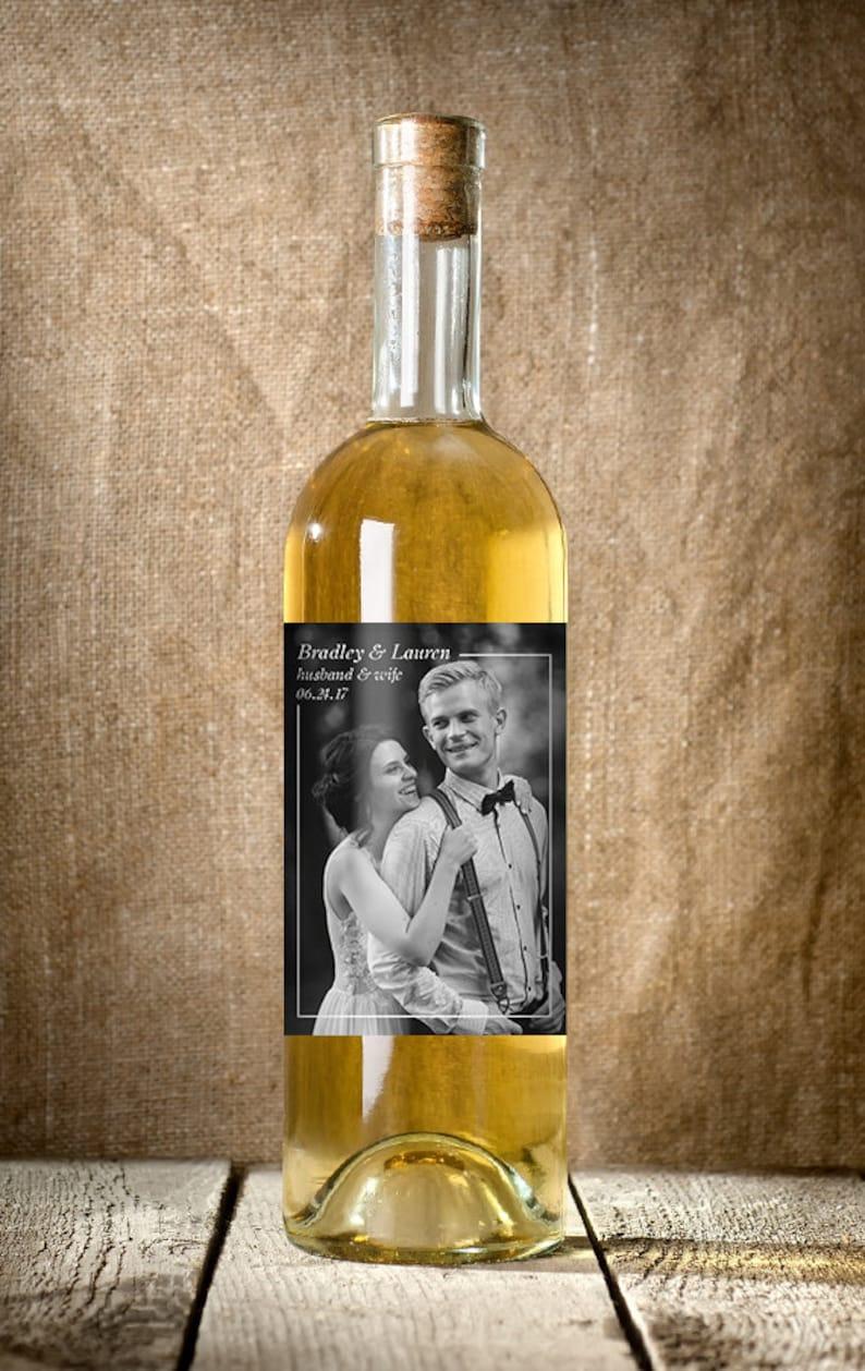Custom Wine Label Wedding Wine Label Photo Wine Label Wedding Gift Ideas Personalized Wedding Wine Label Wedding Favors