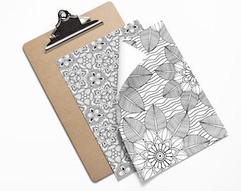 Mandala Color-In Art Prints- Coloring Pages- DIGITAL DOWNLOAD