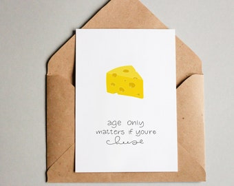 Birthday Card || Cheese