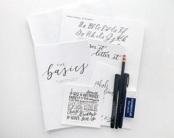 DIY Lettering Kit || The Basics of Hand Lettering