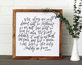 One Day || DWELL Sign